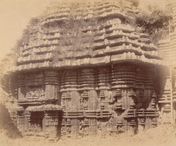 Close view of the southern (or western?) facade of the bhadraka (mandapa) of the Sari Deul Temple, Bhubaneshwar